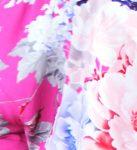 Pink, Blue, Peach Floral