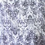 Lilac Damask Print