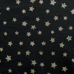 Gold Black Mesh Stars
