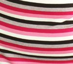 Tan, Brown, Pink Stripe