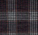 Navy Plaid Sweater Knit