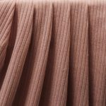 Dusty Pink Rib Knit