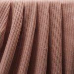 Dusty Pink Rib Knit
