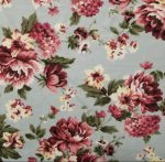Sage Floral French Terry