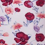 Lilac Floral Chiffon