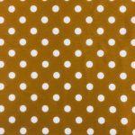 Mustard White Dot