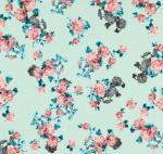 Seafoam Floral